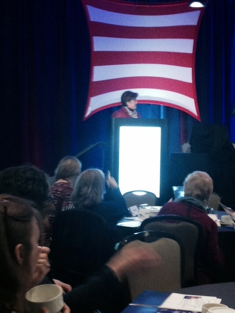 4. AANP President, Dr. Cindy Cooke, opening the Health Policy Conference